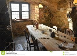 medieval castle dining room