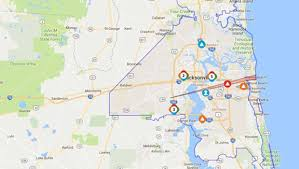 Peco Power Outage Map Popular 209 List Jea Outage Map