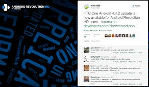 android revolution hd rom android revolution hd updated to android 4 4 2 for htc one