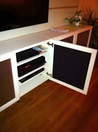 Ikea Kitchen Cabinet Hacks Cool Speaker Friendly Besta Doors Hack Ikea Hackers Ikea Hackers