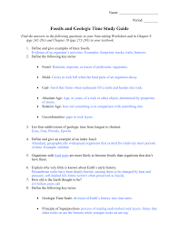 Geologic Time Scale Worksheet Energy And Waves Review Sheet Study Guide