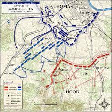 Kennesaw State Map Civil War Battle Maps Battle Of Nashville December 15 1864
