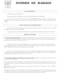 certificat de capacitã de mariage documents ccm c modèles de lettres et formulaires