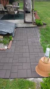 Recycled Rubber Patio Pavers Outdoor Interlocking Rubber Pavers Black Brick Bricks And Backyard
