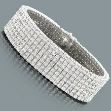 sterling silver bracelet with diamonds images Row diamond bracelet for men 1 50ct sterling silver jpg