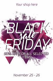 catherines black friday sale image template 50 off for all selected items your pixteller