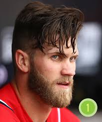 all of bryce harper u0027s best looks in one terrifying image for the win