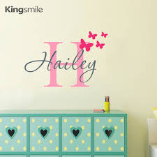 butterfly decoration picture more detailed picture about modern modern butterfly stars kids wall stickers alphabet personalized name initial vinyl art for girls boys bedroom