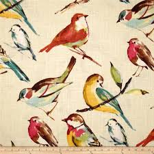Home Decor Designer Fabric Richloom Birdwatcher Meadow Discount Designer Fabric Fabric
