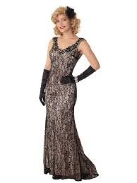black lace champagne satin evening dress old hollywood gowns