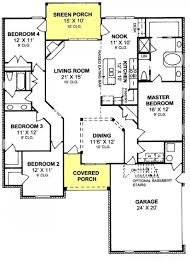 655902 4 bedroom 2 bath traditional with split floor plan and
