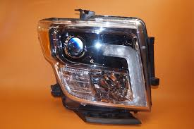 nissan titan yellow fog light nissan titan headlight 2016 2017 right passenger led