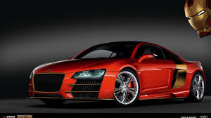 red audi r8 wallpaper audi r8 iron man 463499 walldevil