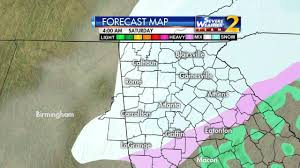 Metro Atlanta Zip Code Map by Atlanta Snow Winter Storm Warning Issued Up To 4 Inches Of Snow