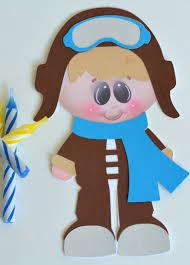 aviator boy craft kit for kids birthday party favor decoration