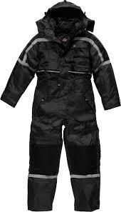 dickies jumpsuit dickies waterproof padded coverall easy fastening cuffs flap