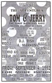 Park Flyers Backyard Flyers by Backyard Parties 1990s Party Out Of Bounds Kcet