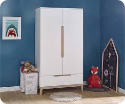 meuble chambre enfant chambre enfant riga blanche et bois set de 5 meubles