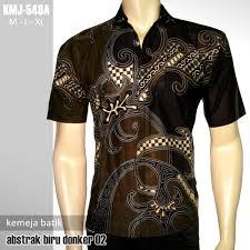 desain baju batik pria 2014 seragam batik kemeja batik kombinasi seragam batik elegan