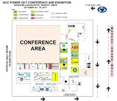 trade show floor plan gcc power 2017