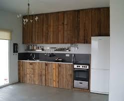 facade cuisine bois brut impressionnant facade cuisine bois brut et enchanteur facade de