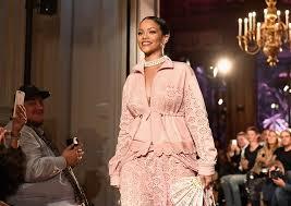 rihanna fenty show photos videos paris fashion week time
