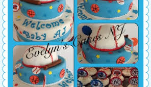 sports baby showers cake images about baby shower on sport baby