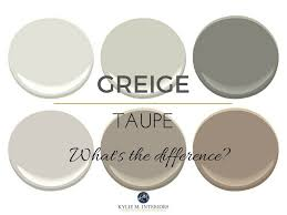 taupe and greige what u0027s the big difference