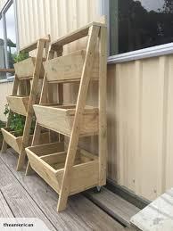 wooden 3 tier planter box u2026 pinteres u2026