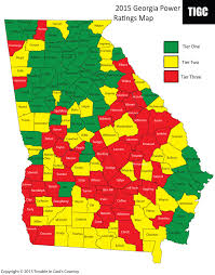 Atlanta Area Map 2015 Power Ratings Map Trouble In God U0027s Country