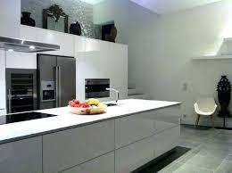 cuisine laquee cuisine equipee en l cuisine equipee blanc laquee 13 favori grise