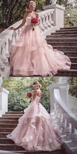 pink wedding dress the 25 best pink wedding dresses ideas on princess