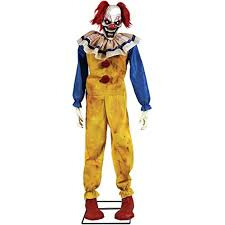 twitching clown animated prop halloween decoration awesome
