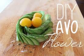 how to make an avocado flower ashley morganic youtube