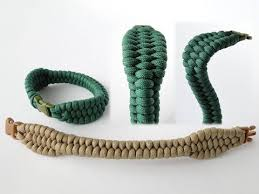 cobra survival bracelet images How to make a two headed cobra paracord survival bracelet jpg