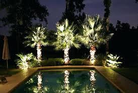 black spotlight 8 piece outdoor led landscape lighting set