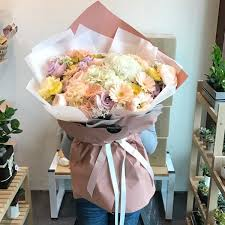 flower delivery reviews large pastel bouquet flower delivery south korea 320 5