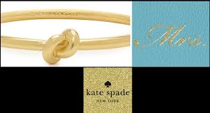 kate spade bridesmaid gifts kate spade wedding gift ideas lading for