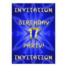 birthday invites charming 17th birthday invitations design ideas