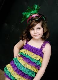 wholesale mardi gras mardi gras boutique baby girl lace pettiromper get ready
