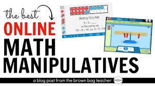 online math manipulatives the brown bag teacher bloglovin u0027