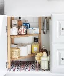 bathroom vanity organizers ideas bathroom storage and organizing ideas real simple