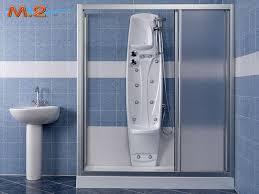 trasformare una doccia in vasca da bagno trasforma la vasca in doccia con colonna idromassaggio