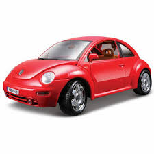 vw volkswagen beetle amazon com bburago volkswagen new beetle diecast model car 1 24