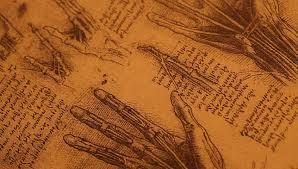 14th century anatomy art by leonardo da vinci stock footage video