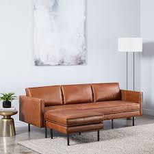 couch and ottoman set axel leather sofa 89 ottoman set west elm