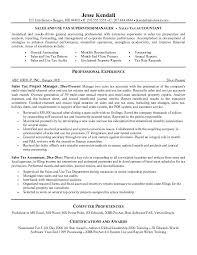 sample accounting resume templates