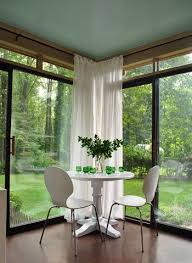 Curtain Rods To Hang From Ceiling Best 25 Corner Curtain Rod Ideas On Pinterest Corner Window