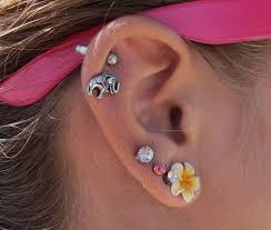 ear piercing hoop ear cartilage piercing hoop