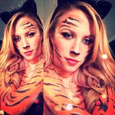 Tiger Halloween Makeup by Alexa Katherine U2013 Page 11